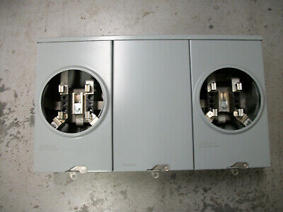 Durham 2-gang 200 Amp Meter Socket
