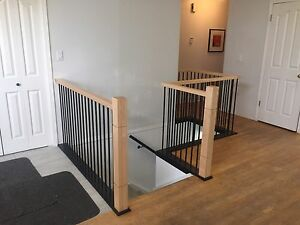 Beautifully Handcrafted On Site Interior Railings With Interior Railings.