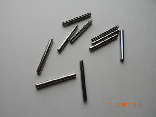 """STAINLESS STEEL ROLL PINS 5/32 x 1 1/2""""  10 PCS. NEW"""