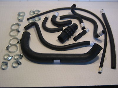 TRIUMPH GT6 RADIATOR HOSES, HEATER HOSES, PIPES & CLIPS