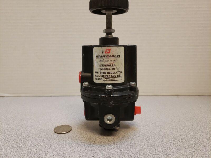 FAIRCHILD KENDALL PRESSURE REGULATOR MODEL 10 500PSI RANGE 1-20