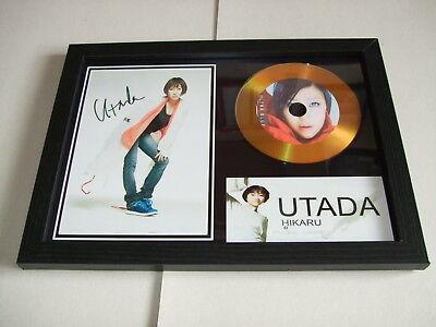 UTADA HIKARU    SIGNED  GOLD CD  DISC 1