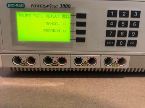 Bio-Rad PowerPAC 3000 For Electrophoresis & Blotting Good