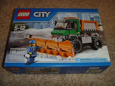 LEGO City 60083 Snowplow Truck New in Sealed Box 196 Pieces