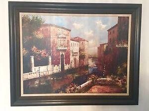 Framed Art Painting Italy