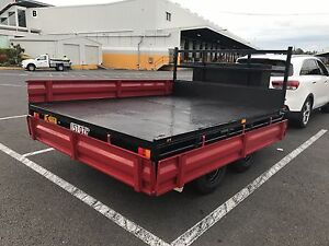 Trailer Flatbed Tandem, steel, 3m(9.8feet) x (7.5feet) Rocklea Brisbane South West Preview