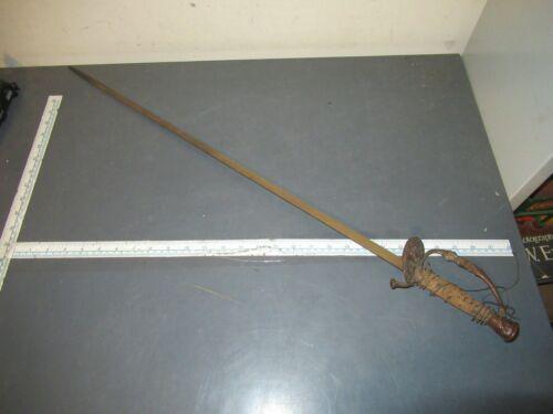 Antique US Military M1860 Staff & Field Sword RESTORE / PARTS