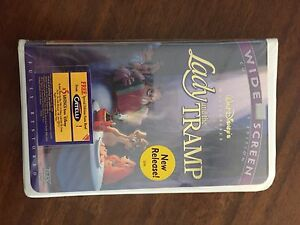Lady any the tramp  VHS
