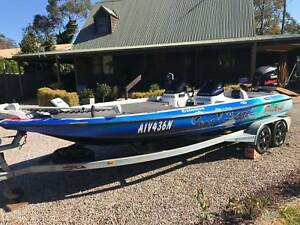2006 zx250 Skeeter Tournament Fishing Boat