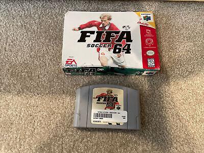 FIFA Soccer 64 (Nintendo 64, 1996)