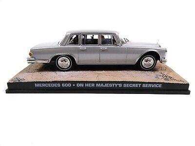 Mercedes Benz 600 - James Bond 007 OHMSS - 1:43 Diecast Model Car DY032