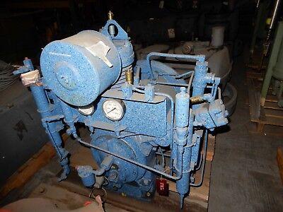 Ingersoll Rand Ir Type 30 Model 10t2 Pk Scba Scuba Breathing Air Compressor