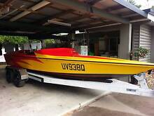 Natwell 21' Ski boat, inboard, stern drive. Parramatta Park Cairns City Preview