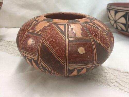 """Priscilla Namingha Nampeyo - Hopi Jar Pot Geometric 7""""x4"""""""