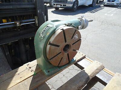 Nikken 12 Vertical Rotary Table 8 Slot For Milling Machine