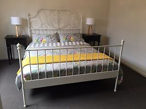 Queen bed with mattress Grange Charles Sturt Area Preview
