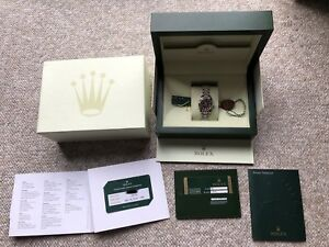 Ladies Rolex DateJust 179174 (Box/Papers)