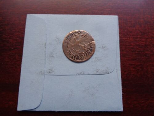 1689 Norway 2 skilling silver coin Scarce