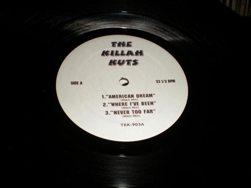 The Killah Kuts VINYL TKK 903 2 Way Freak American Dream Where I've Been Never