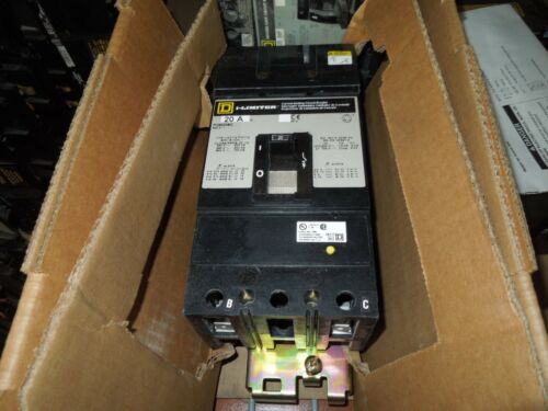Square D I-line Fi26020ab 20a 2p (a&b Phasing) 600v 50/60hz Circuit Breaker New