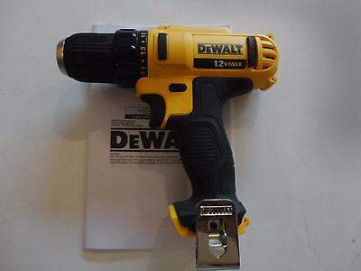 Dewalt Dcd710 12V Li Ion 3 8   Cordless Drill Driver Tool Only W  Belt Hook