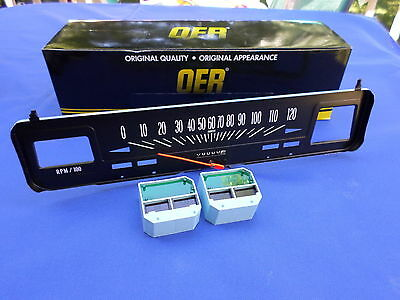 NEW 1969-74 Chevy Nova W/ Console Gauges 120 MPH Speedometer OER Parts 6496617 ()