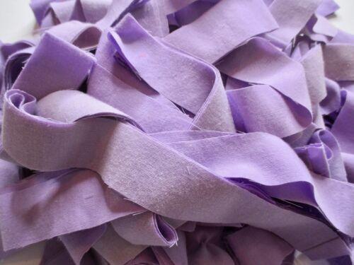Rag Rug Yarn Precut Sheet Strips Toothbrush Amish Knot Braided Crochet 30 yd