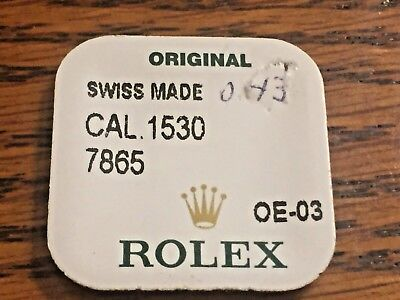 Genuine Rolex 1530-7865 Balance Staff 0.43 mm (selling 1 from Factory Pack)