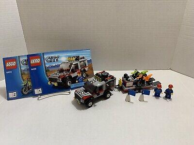 LEGO City (4433) Dirt Bike Transport 100% Complete