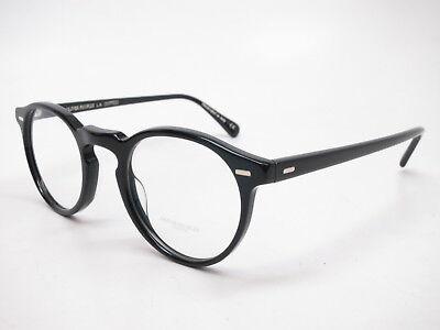 Oliver Peoples OV 5186 Gregory Peck 1005 Black Eyeglasses 47mm (Olivers People Eyeglasses)