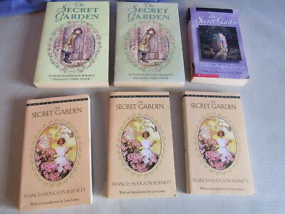 Classroom Garden Set (Lot of 6 Copies of The Secret Garden by Frances Hodgson Burnett, Classroom Set )