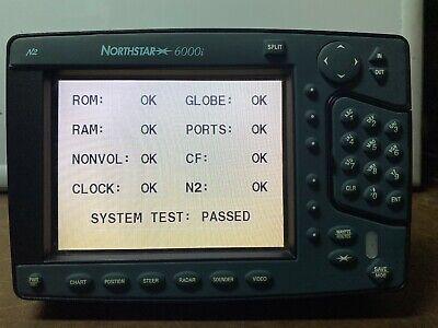 """Northstar 6000i 6.4"""" MFD Radar GPS Chartplotter 2nd Display Unit Model 6K6"""