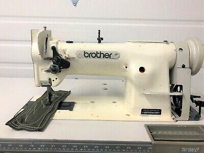 Brother Ls2-f53a Walking Foot Vert Bobbin Rev 110v Industrial Sewing Machine