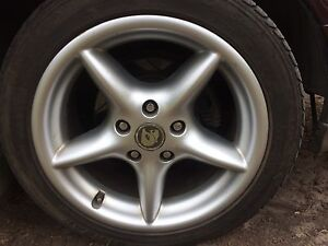 VR Senator Wheels & Tyres  - great condition - commodore VN-VZ GTS Yarra Glen Yarra Ranges Preview