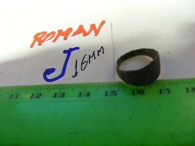 Ancient Roman/Byzantine  Bronze Ring,   16mm size inside..EVIL EYE protection.