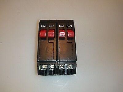 Eaton Bryant Cutler Hammer Bq220220 20 Amp 4 Pole Circuit Breaker Bq220-220