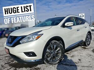 2017 Nissan Murano SL Leather Roof Navi  FREE Delivery