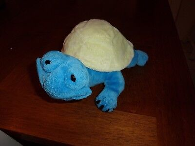 "SECOND NATURE 11"" plush blue yellow turtle PLUSH CUDDLY QUARRY CRITTERS   for sale  Clearwater"