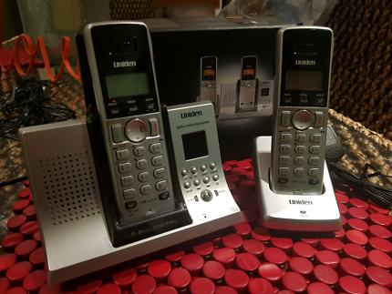 Uniden cordless phone set