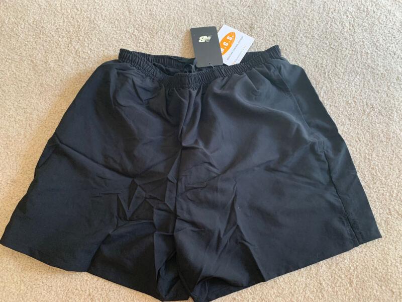 NWT—NEW BALANCE 105 Lined Running Workout Shorts 5 Inch Short - Black Medium