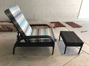 2 x Pool chairs with cushion and foot stool! Collaroy Manly Area Preview