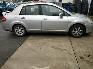 2007 Nissan Tiida Ti Silver Automatic Sedan with New Tyres