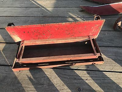 International Ih Farmall 656 Tractor Tool Box Step 806 856 1206 1086