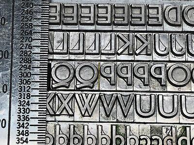 24 Point Nicolas Cochin New Letterpress Type complete font