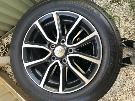 Brand new Lancer wheels and tyres 5x114.3 16inch