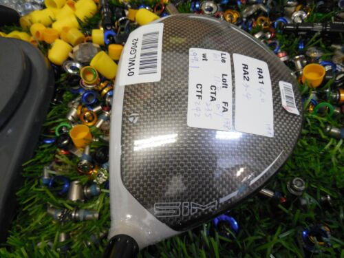 TaylorMade RH SIM MAX Tour 10.5°(act 11.2°) TOUR ISSUE 01WLG042 + Head only