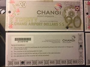 S$80 Singapore Changi Airport voucher Tullamarine Hume Area Preview