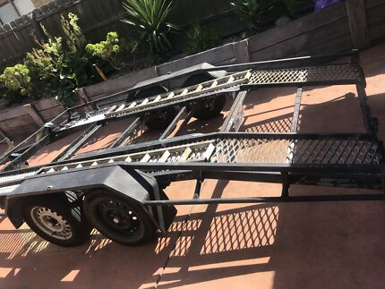 Car trailer open bed  Pakenham Cardinia Area Preview