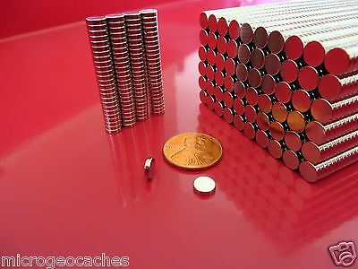 500 Strong Rare Earth Neodymium Disc Magnets 14 X 116 Inch New