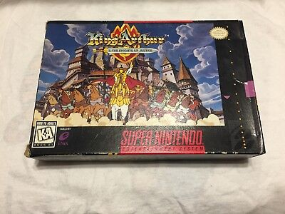 King Arthur and the Knights of Justice (Super Nintendo Entertainment
